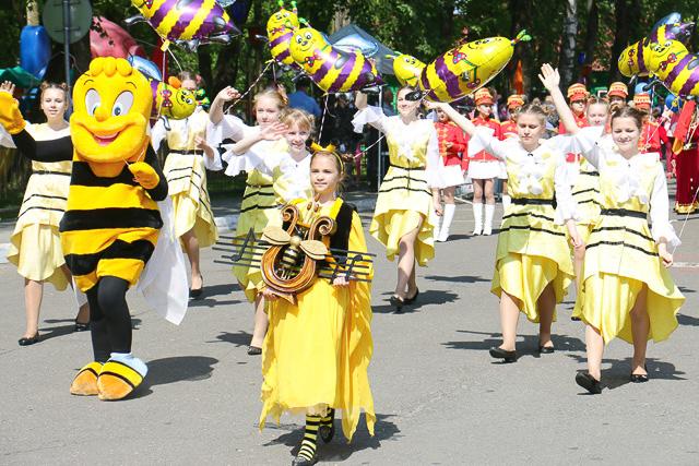 Золотая пчелка в Климовичах